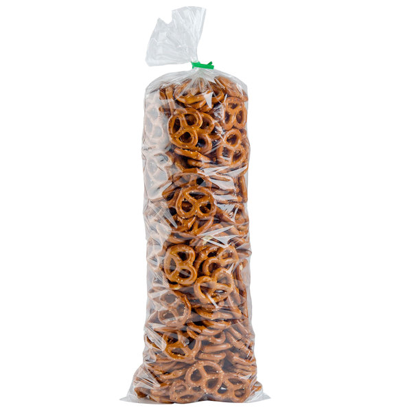 "LK Packaging 15F-0618 Plastic Food Bag 6"" x 18"" Flat - 1000/Case Main Image 3"