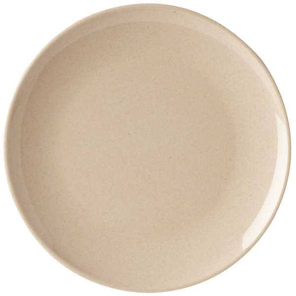 "GET BAM-16102 BambooMel 12"" Round Plate - 12/Case"