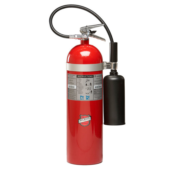 Buckeye 15 lb. Carbon Dioxide BC Fire Extinguisher - Rechargeable Untagged - UL Rating 10-B:C