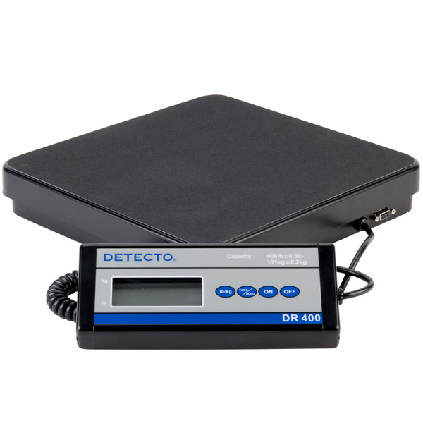 Cardinal Detecto Dr400 400 Lb Portable Receiving Scale With Remote Display