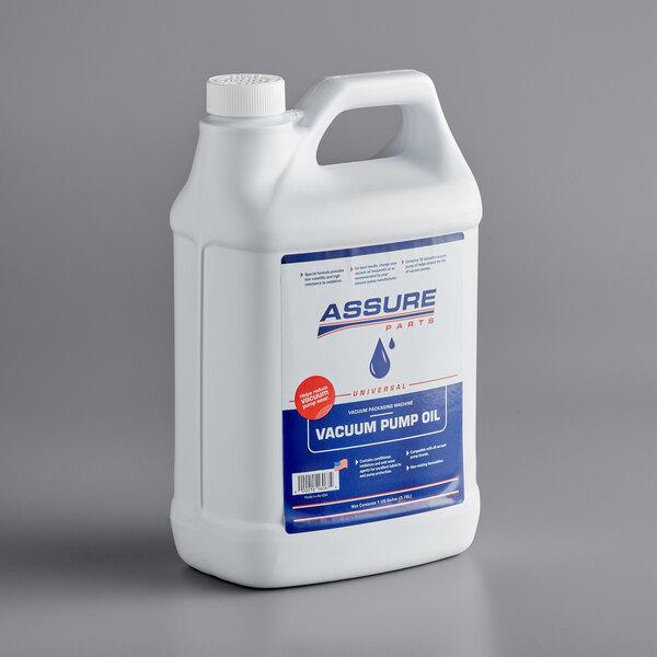 Assure AOILMG Universal Vacuum Packaging Machine Pump Oil - 1 Gallon Main Image 1