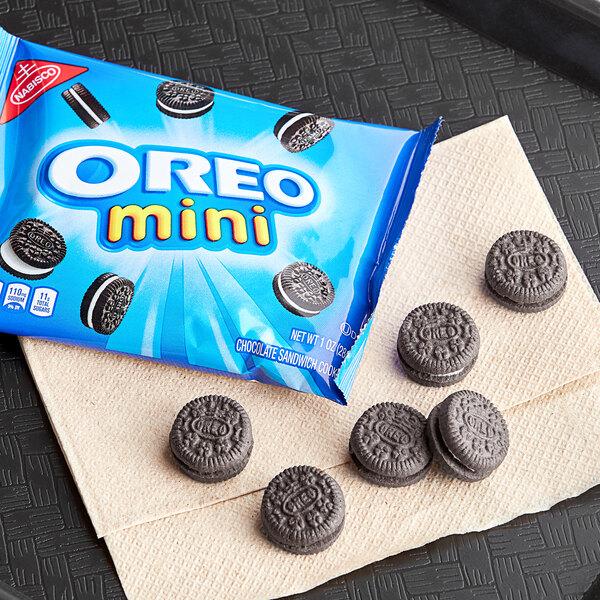 Nabisco Oreo Mini Cookies 1 oz. Snack Pack - 48/Case Main Image 3