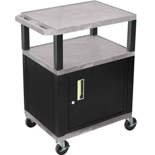 Luxor Kitchen Cabinets: Luxor WT2642GYC2E-B Gray Tuffy Two Shelf Adjustable Height