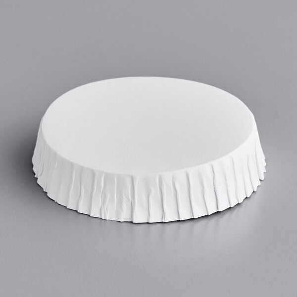 2 1/2 inch Disposable Hottle Cap / Carafe Cover - 250/Pack