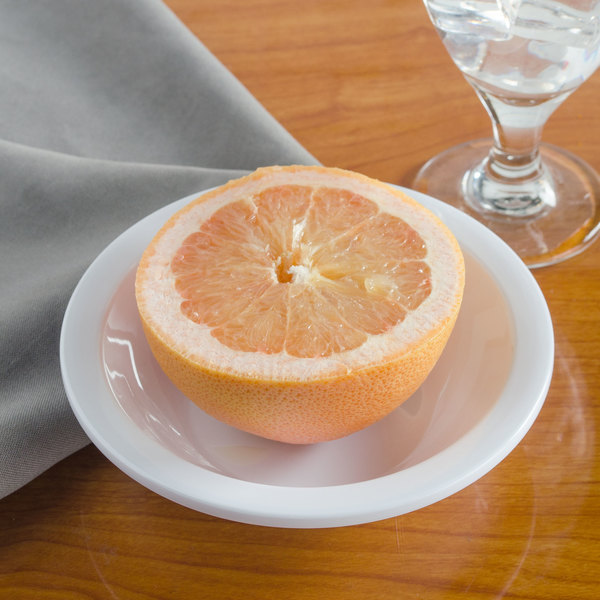 Carlisle KL12102 Kingline 9.6 oz. White Grapefruit Bowl - 48/Case