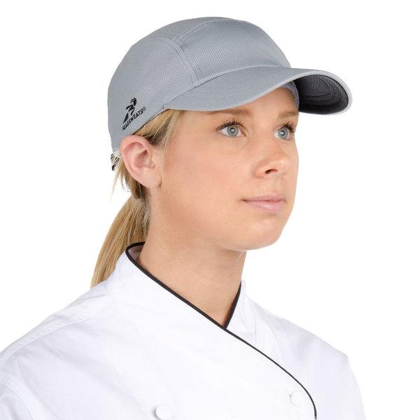 Headsweats Gray Eventure Fabric Customizable Chef Cap