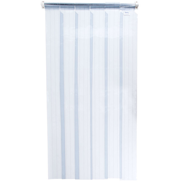 """Curtron M106-S-80-6PK 6"""" x 80"""" Standard Replacement Door Strip - 6/Pack Main Image 1"""
