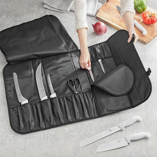 Choice 17-Pocket Black Nylon Knife Case Main Image 2