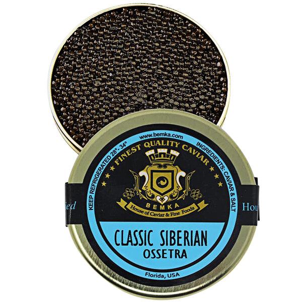 Bemka Classic Siberian Ossetra Sturgeon Caviar Main Image 1