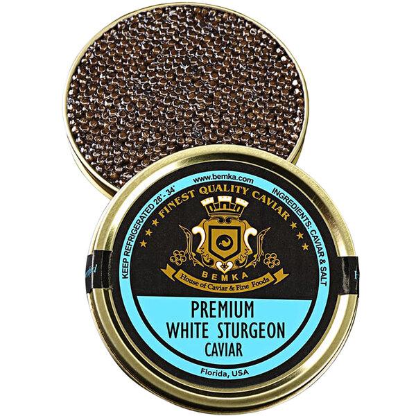 Bemka Premium Italian White Sturgeon Caviar Main Image 1
