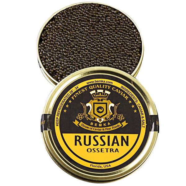 Bemka Classic Russian Ossetra Sturgeon Caviar Main Image 1