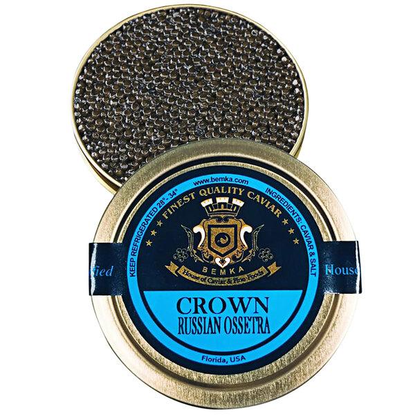 Bemka Crown Russian Ossetra Sturgeon Caviar Main Image 1