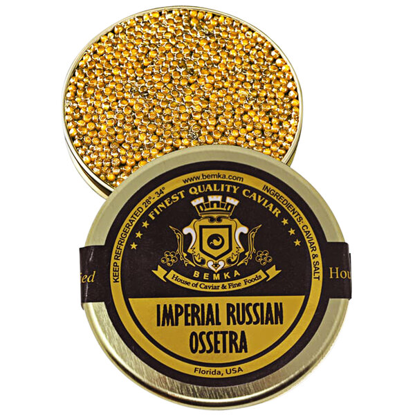 Bemka Imperial Russian Ossetra Sturgeon Caviar Main Image 1