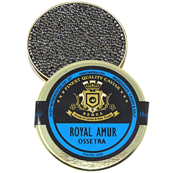 Bemka Royal Amur Ossetra Sturgeon Caviar Main Image 1
