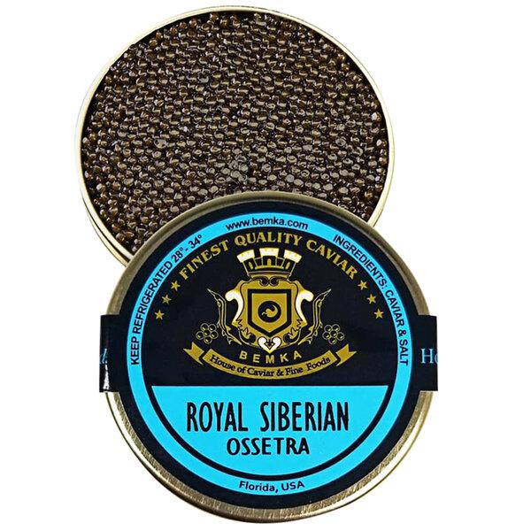 Bemka Royal Siberian Ossetra Sturgeon Caviar Main Image 1