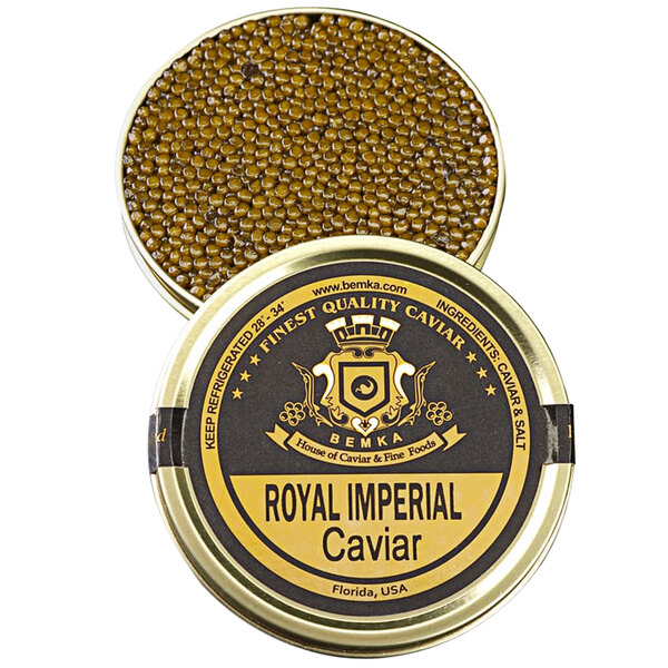 Bemka Royal Imperial Kaluga Hybrid Sturgeon Caviar Main Image 1