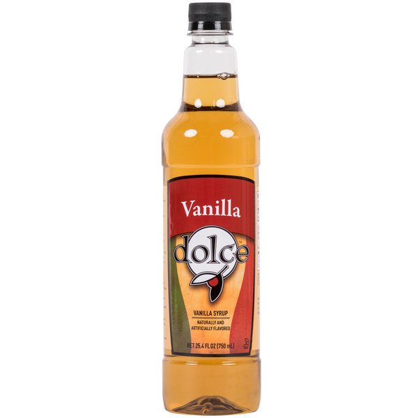 Dolce Vanilla Coffee Flavoring Syrup