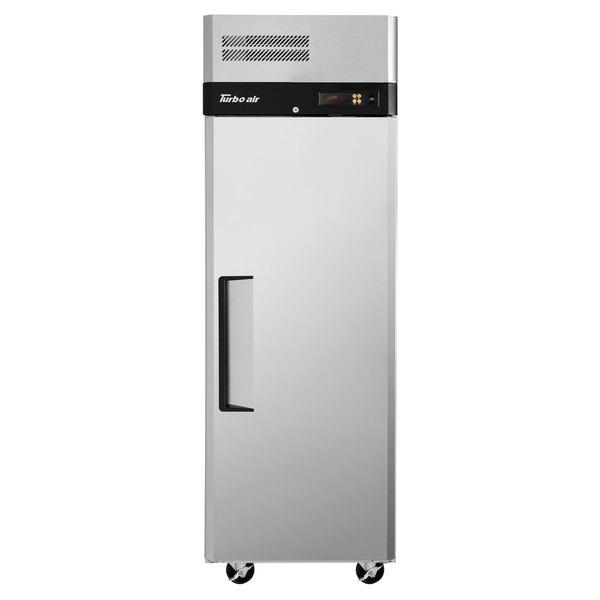 "Turbo Air M3R19-1 M3 Series 25"" Solid Door Reach In Refrigerator"