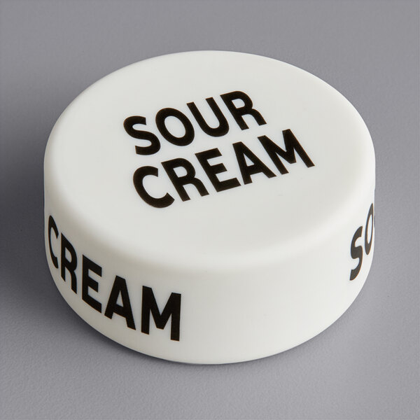 """Choice """"Sour Cream"""" Silicone First In First Out Style Lid Wrap Main Image 1"""