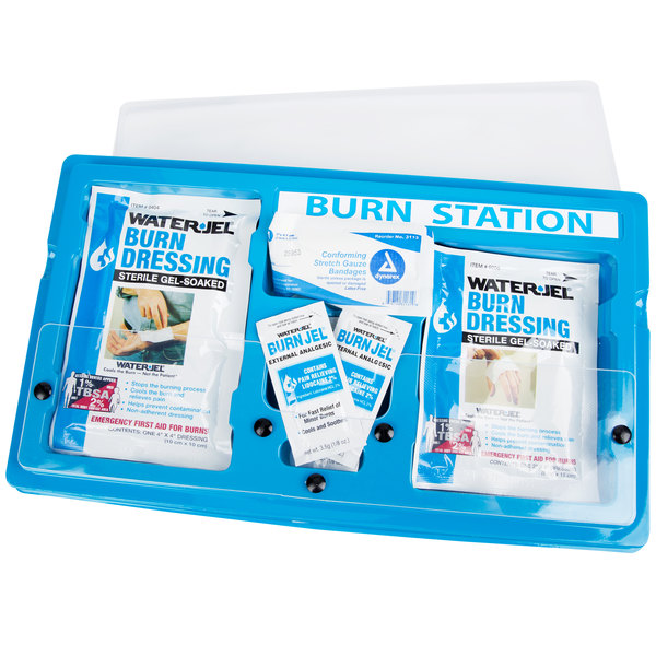 Medi-First Small 11 Piece Emergency Burn Station Main Image 4