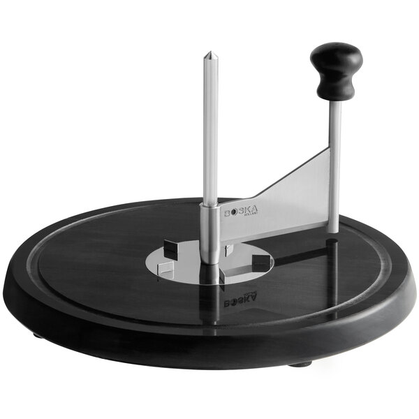 "Boska 850520 9"" Black Marble Cheese Curler Main Image 1"