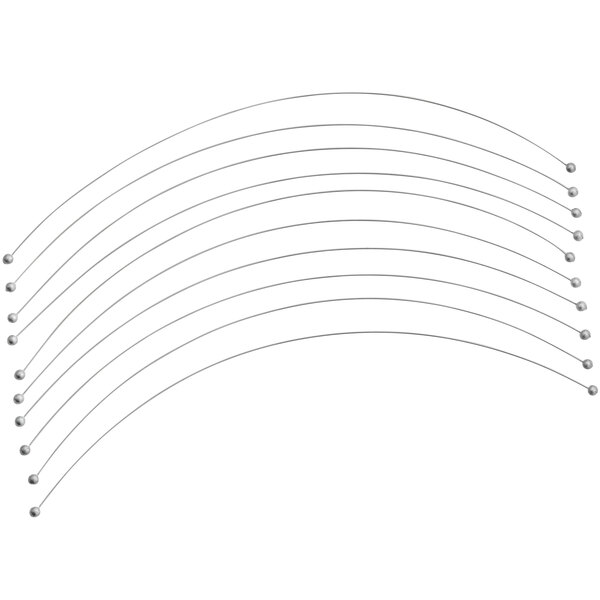 """Boska 602510 9 1/2"""" Cutting Wire for Roquefort Bow - 10/Pack Main Image 1"""