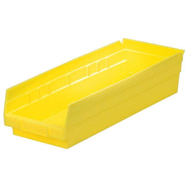 "Metro MB30138Y Yellow Nesting Shelf Bin 17 7/8"" x 6 5/8"" x 4"" Main Image 1"