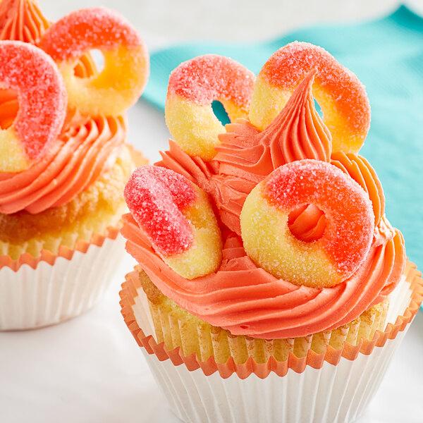 18 lb. Gummi Peach Rings Main Image 2