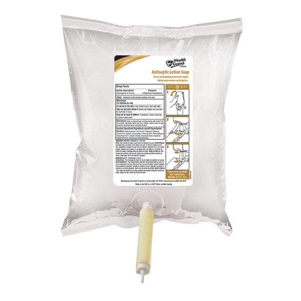 Kutol 2565 Health Guard 800 mL Antiseptic Lotion Hand Soap Bag-In-Box Main Image 1