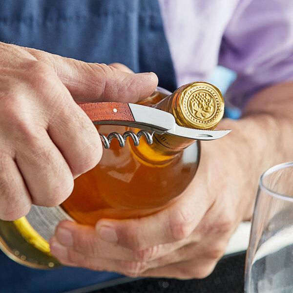 Acopa Waiter's Corkscrew with Wood Handle Main Image 3