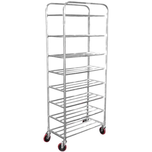Winholt UNAL-8-WEG Eight Shelf Narrow Universal Cart