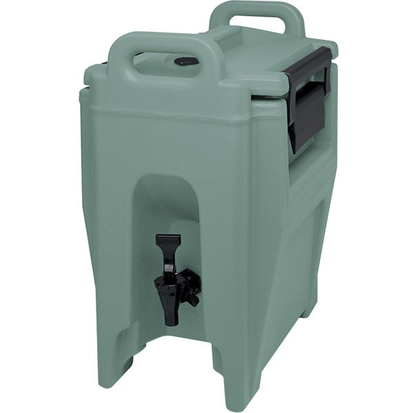 Cambro UC250401 Ultra Camtainers® 2.75 Gallon Slate Blue Insulated Beverage Dispenser Main Image 1