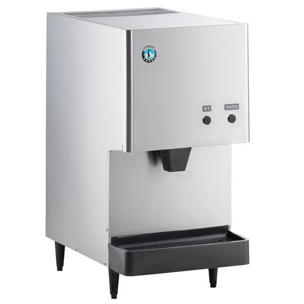 Hoshizaki DCM-270BAH Countertop Ice Maker and Water Dispenser - 8.8 lb. Storage Air Cooled Main Image 1