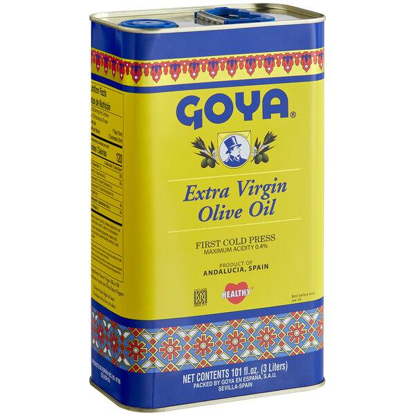 Goya 3 Liter Extra Virgin Olive Oil Main Image 1