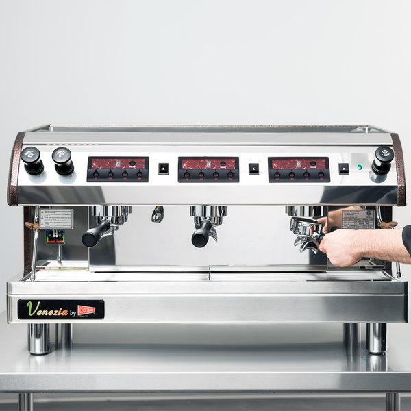 Cecilware Venezia Ii Esp3 220v 3 Group Espresso Machine 240v