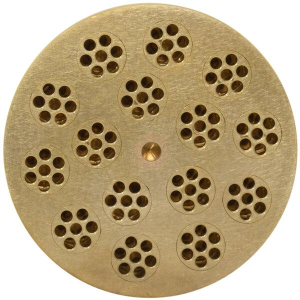 """Avancini #108 Rigatoni Rigati Pasta Die / Extruder - 15mm (9/16"""") Main Image 1"""