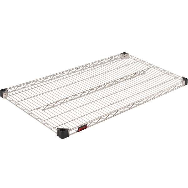 "Eagle Group QA2442C 24"" x 42"" Quad-Adjust® NSF Chrome Wire Shelf Main Image 1"