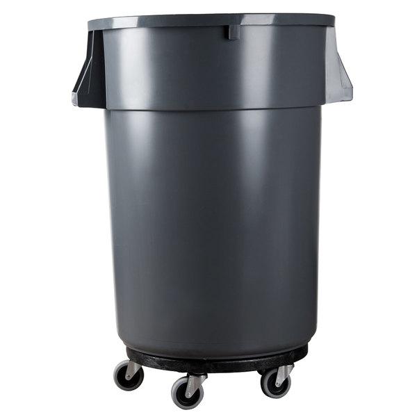 Rubbermaid Fg264000bla Brute Trash Can Dolly