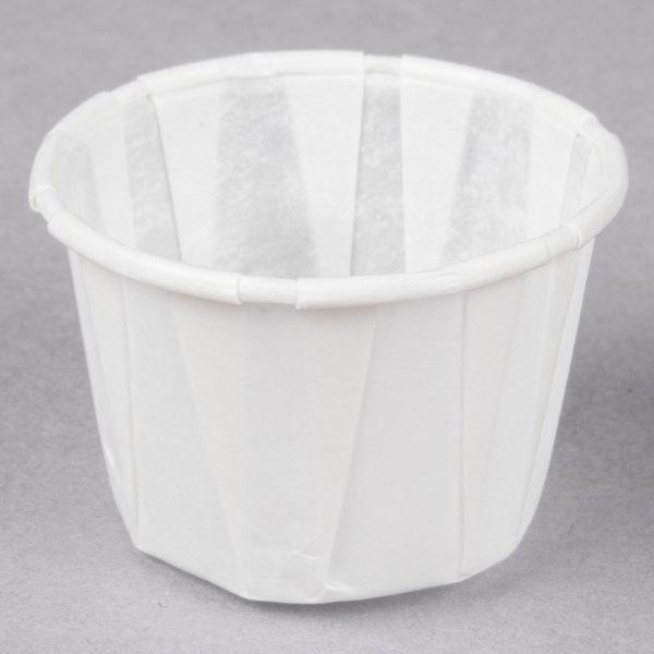 Genpak F100 1 oz. Harvest Paper Souffle / Portion Cup - 250/Pack