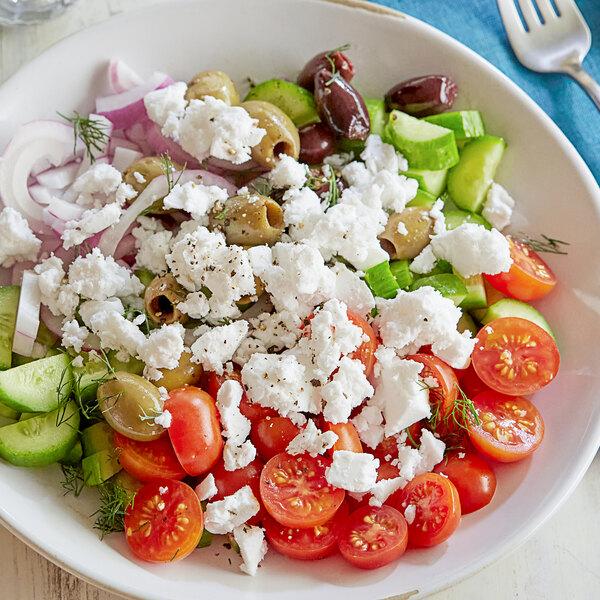Violife Just Like Vegan Greek Feta Cheese Block 8.1 oz. - 8/Case Main Image 2