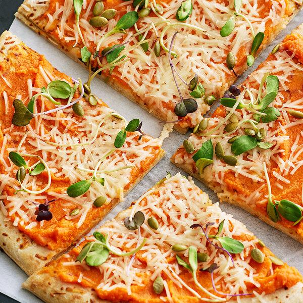 Violife Just Like Vegan Mozzarella Cheese Shreds 2 lb. - 5/Case Main Image 2
