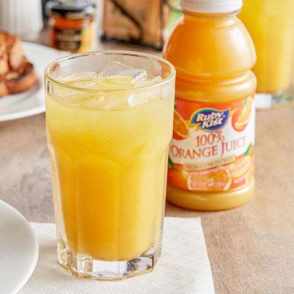 Ruby Kist 10 fl. oz. Orange Juice - 24/Case Main Image 3
