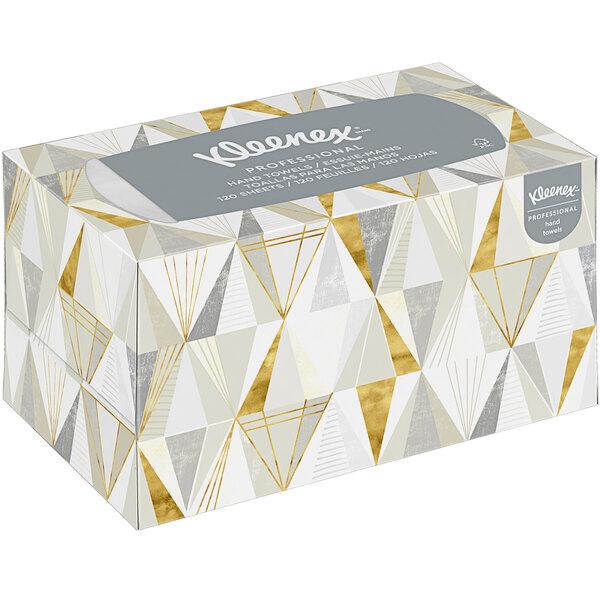 Kleenex® Professional 120 Sheet Hand Towel Box - 18/Case Main Image 1