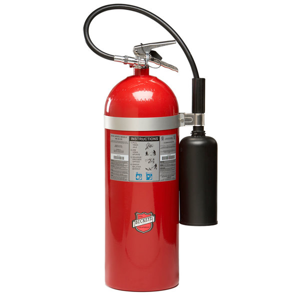 buckeye 20 lb carbon dioxide bc fire extinguisher rechargeable