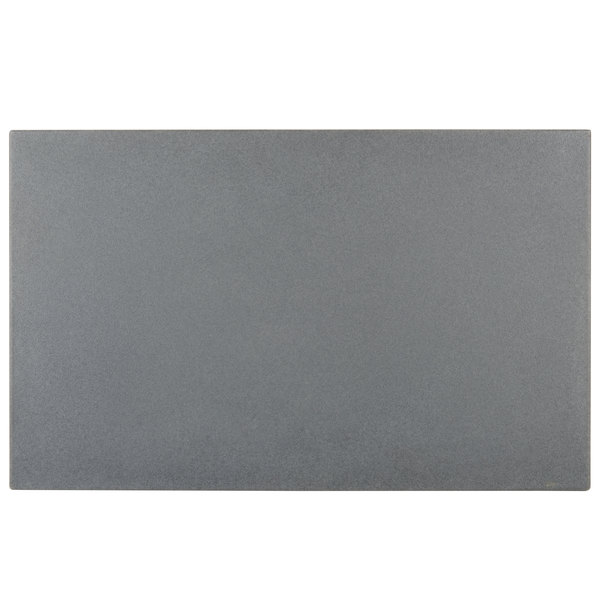 """Cambro WCR1220191 Granite Gray Full Size Well Cover For CamKiosk and Camcruiser Vending Carts 21""""L x 13""""W x 2""""H"""