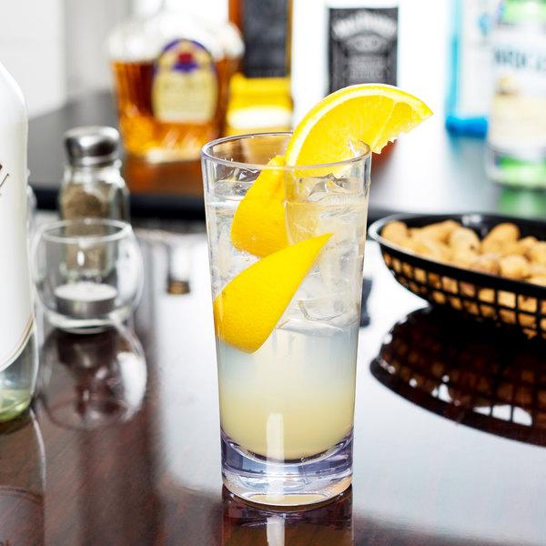 Carlisle 561407 Alibi 14 oz. SAN Plastic Beverage Glass - 24/Case