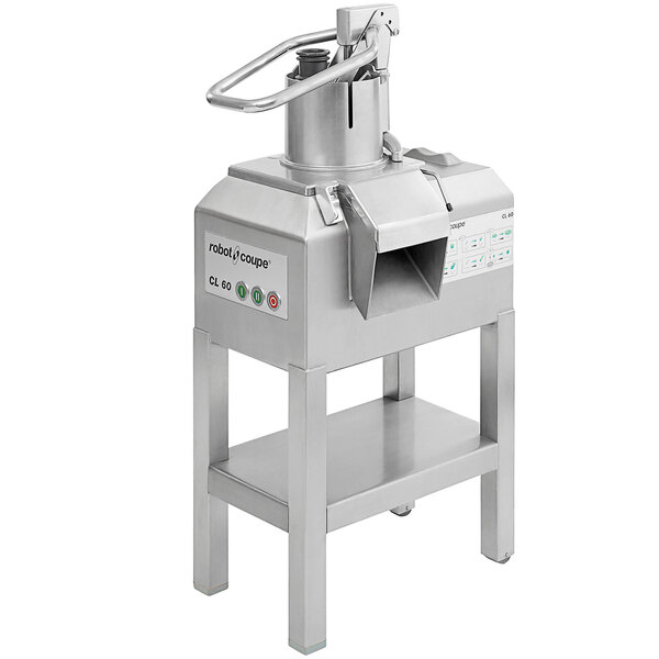 Robot Coupe CL60 2-Speed Pusher Full Moon Continuous Feed Food Processor - 240V, 3 Phase, 3 hp Main Image 1