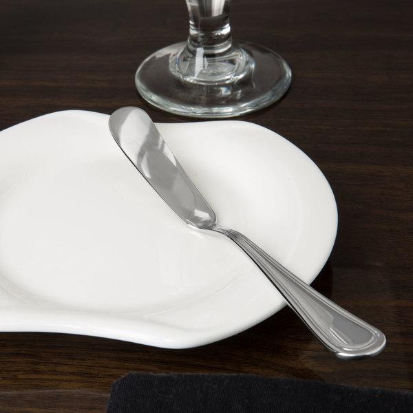 Regency Flatware Stainless Steel Butter Knife - 12/Case
