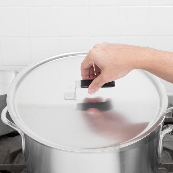 "Vollrath 67541 Wear-Ever 14 7/8"" Flat Aluminum Pot / Pan Cover with Torogard Handle"