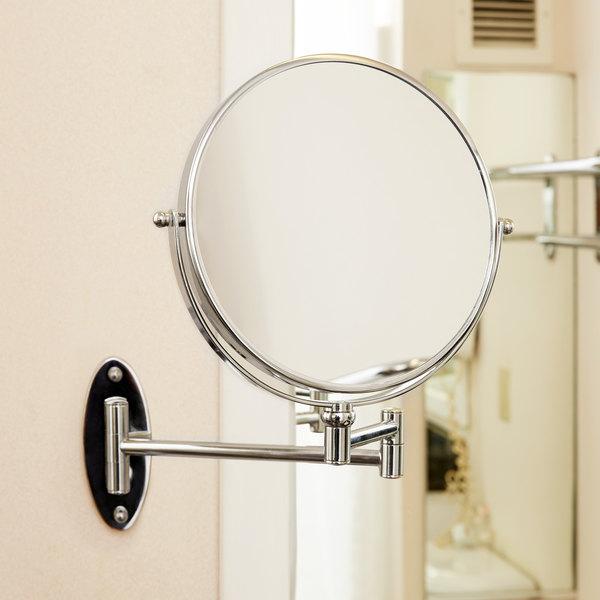 "Conair 41741W 8"" Diameter Wall-Mount Mirror Main Image 7"